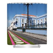 Presidential Palace - Azores Shower Curtain