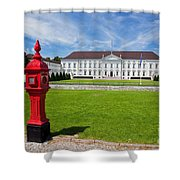Presidential Palace Berlin Germany Shower Curtain