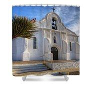 Presidio Chapel San Elizario Texas Shower Curtain