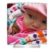 Presious Baby Shower Curtain