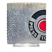 Press To Order Shower Curtain