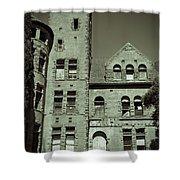 Preston Castle Tower Shower Curtain