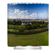 Pretoria Cityscape Southward Shower Curtain