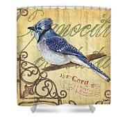 Pretty Bird 4 Shower Curtain