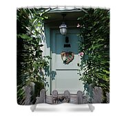 Pretty Door In Nether Wallop Shower Curtain