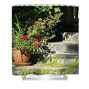 Pretty Gardens Shower Curtain