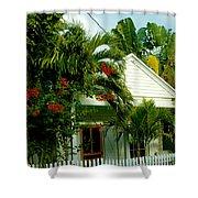 Pretty Key West Florida Shower Curtain