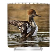 Pretty Little Redhead Shower Curtain