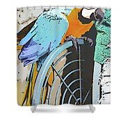 Pretty Polly Shower Curtain