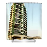 Price Tower Shower Curtain