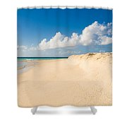 Prickly Pear Beach Shower Curtain