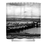 Priddy's Hard Jetty Shower Curtain