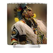 Pow Wow Native Pride 2 Shower Curtain
