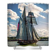 Pride Of  Baltimore 1 Shower Curtain