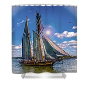Pride Of Baltimore 3 Shower Curtain