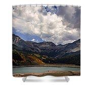 Priest Lake Colorado Shower Curtain