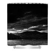 Priest Lake Splendor Shower Curtain