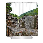 Priest's House Shower Curtain
