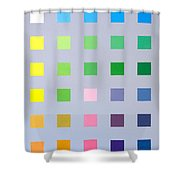 Primary To Tertiary Shower Curtain