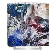Primordial State Of Mind Shower Curtain