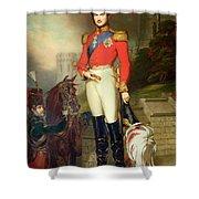 Prince Albert Shower Curtain by John Lucas