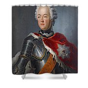 Prince Augustus William Oil On Canvas Shower Curtain
