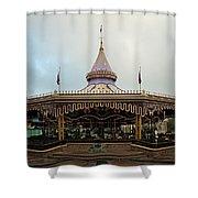Prince Charmings Regal Carousel Shower Curtain