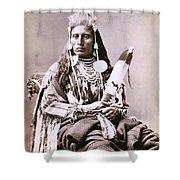 Prince Crow Shower Curtain