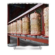 Prince Gong's Mansion 8622 Shower Curtain