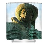 Prince Henry The Navigator Shower Curtain