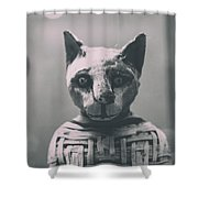 Prince Of Purrsia.. Shower Curtain