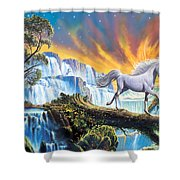 Prince Of The Mountains Shower Curtain