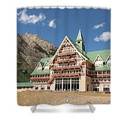 Prince Of Wales Hotel Shower Curtain