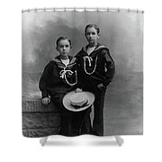 Princes Amedeo And Aimone Shower Curtain