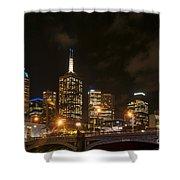 Princes Bridge And Skyline Shower Curtain