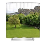 Princes Street Gardens 6480 Shower Curtain