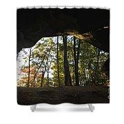 Princess Arch Starburst - D003133 Shower Curtain