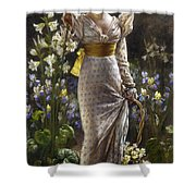 Princess Elvina Of Bavaria Shower Curtain