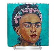 Princess Frida Shower Curtain