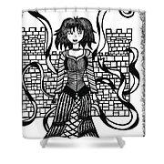 Princess Guinevere Shower Curtain