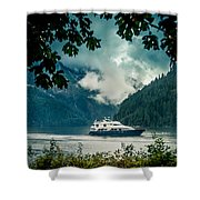 Princess Louisa Inlet Shower Curtain