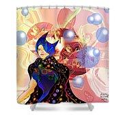 Princess Of Light Shower Curtain