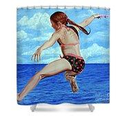 Princess Of The Ocean - Princesa Del Oceano Shower Curtain