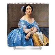 Princesse Albert De Broglie Nee Josephine Eleonare Marie Pauline De Galard De Brassac De Bearn Shower Curtain