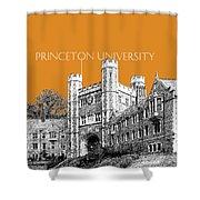 Princeton University - Dark Orange Shower Curtain