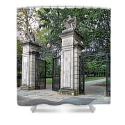 Princeton University Main Gate Shower Curtain