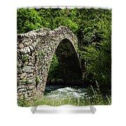 Principality Of Andorra. Pont De La Shower Curtain
