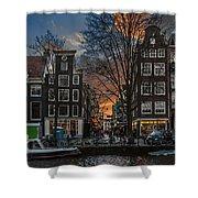 Prinsengracht 743. Amsterdam Shower Curtain