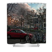 Prinsengracht 791. Amsterdam. Shower Curtain