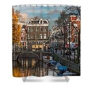 Prinsengracht 807. Amsterdam Shower Curtain